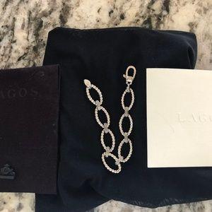 Lagos Sterling Silver Link Bracelet with Lagos bag